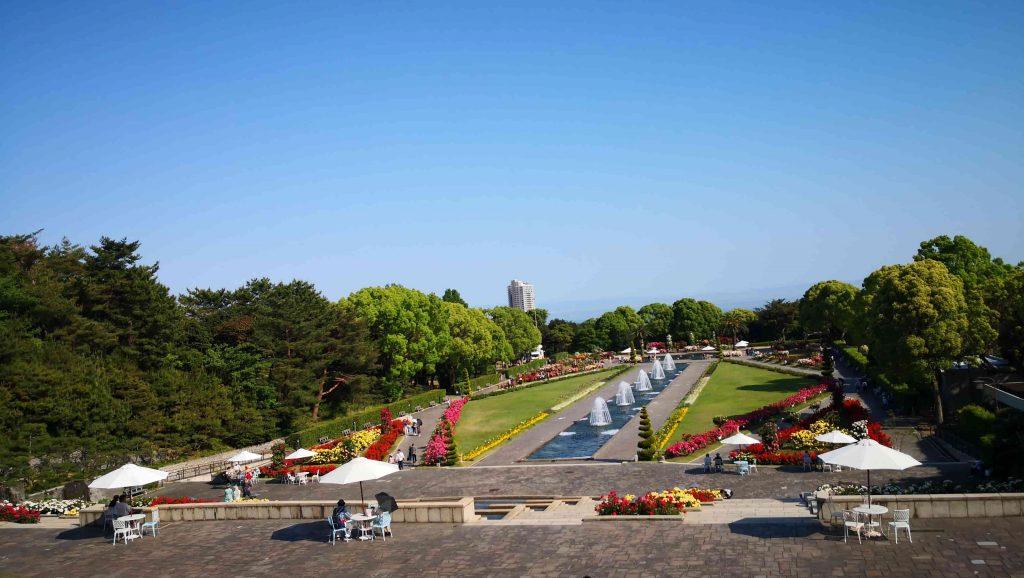 須磨離宮公園全景